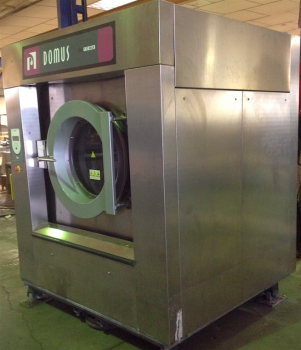 WASHER EXTRACTOR DOMUS DFI 120 SECOND HAND Industrial Washer Extractor 120 kg Domus