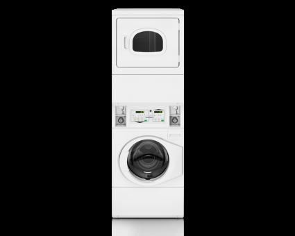 Coin Washer Extractor SPC 10kg Conjunto apilable Lavadora/Secadora con monedero 10 kg
