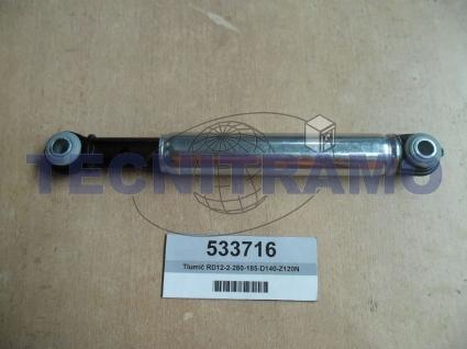 Damper RD12-2-280-185-D140-Z120N